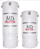 Flo-Master Central Vacuum from MD Manufacturing